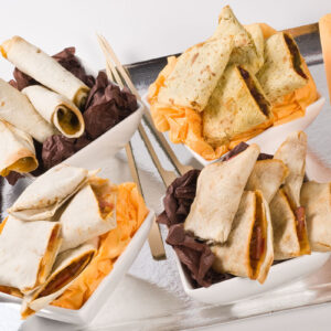 ASSORTIMENT DE MINI WRAPS MEXICAINS surgelés-Freshpack