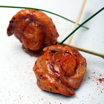 Frozen CHICKEN & SPICY TOMATO SKEWER_Thai Tapas-Freshpack