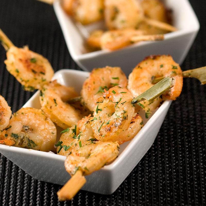 Frozen LEMON GRASS PRAWN SKEWER_Thai Tapas 4-Freshpack