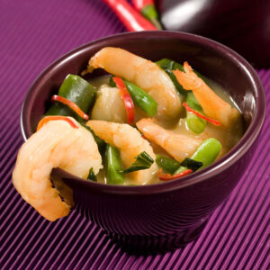 Frozen RED CURRY SHRIMPS_Thai Tapas 4-Freshpack