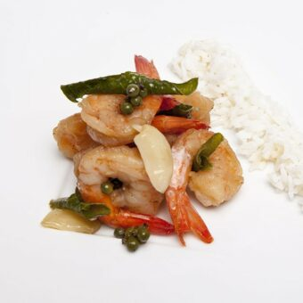 Frozen SHRIMPS FRIED WITH PEPPER AND RICE_Thai Tapas-Freshpack