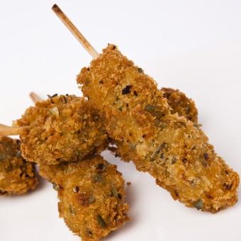brochette de panée curry vert-freshpack
