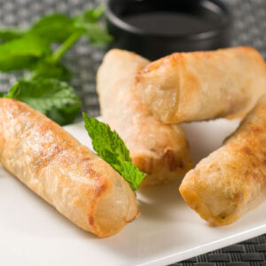 Frozen VEGETABLE SPRING ROLLS_Thai Tapas-Freshpack