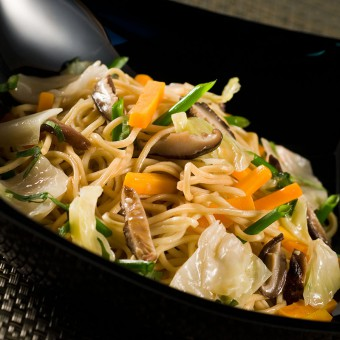 Frozen FRIED NOODLES WITH VEGETABLES_Thai Tapas 2-Freshpack