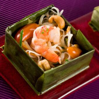 Frozen GREEN PAPAYA SALAD_Thai Tapas 1-Freshpack