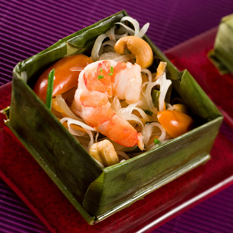 Frozen GREEN PAPAYA SALAD_Thai Tapas 1-Freshpack