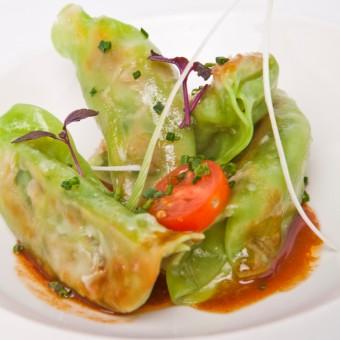 green vegetables gyoza freshpack