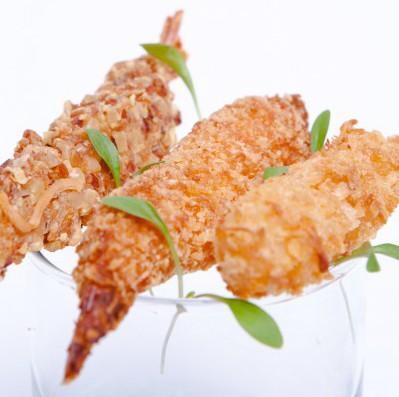 Crevettes panées surgelées-freshpack