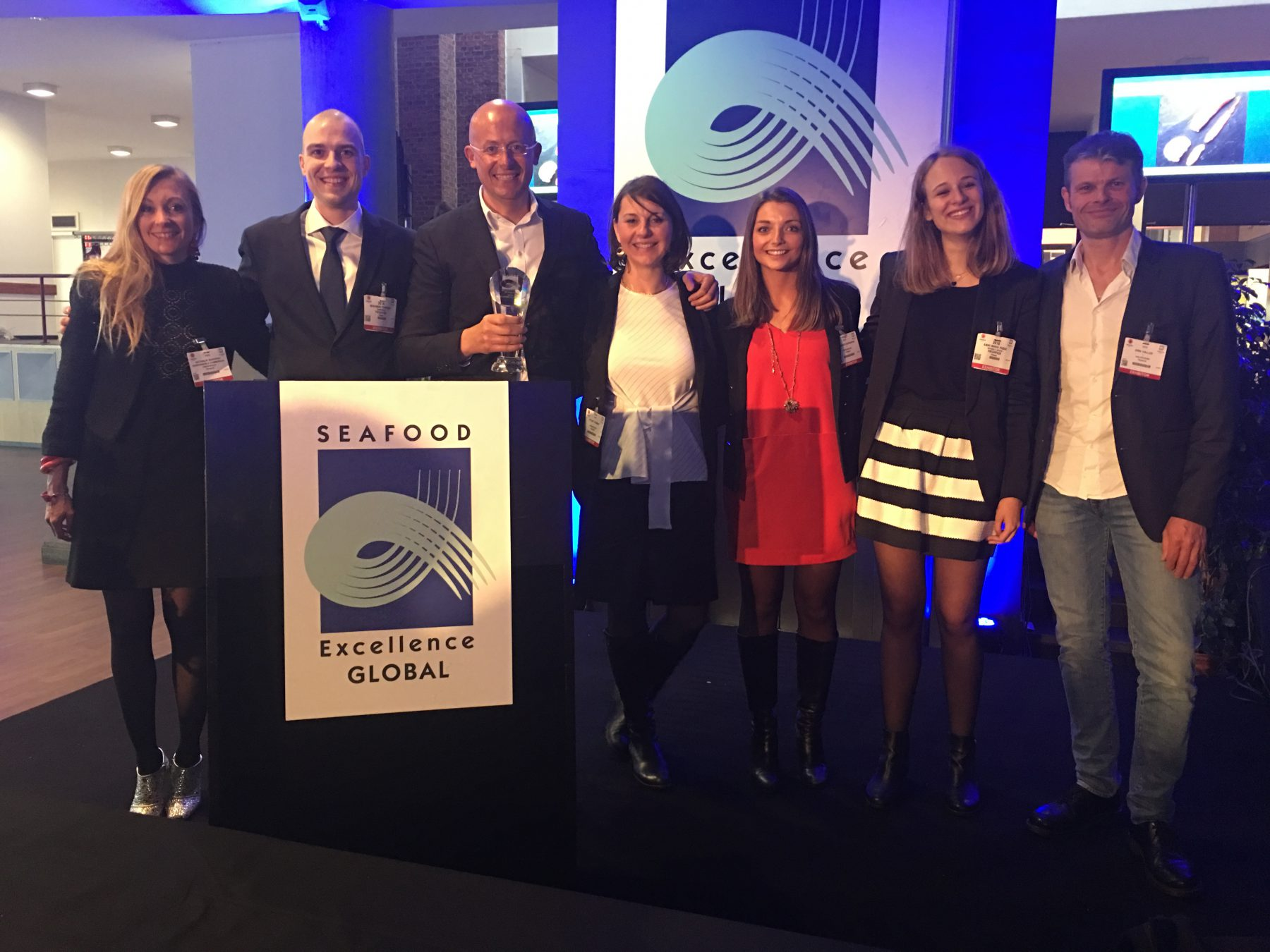 FRESHPACK REMPORTE LE SEAFOOD EXCELLENCE AWARDS AVEC SA CHAIR DE KING CRAB CRU | FRESHPACK