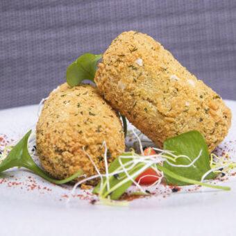 Croquette de courge surgelé, épinards, poireaux & graines de tournesol - végétarienne, vegan & sans gluten
