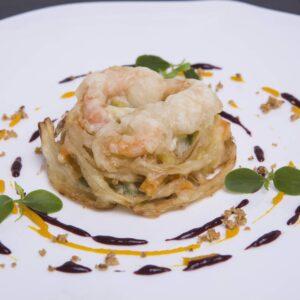 Croustillant Légumes crevette surgelé| Freshpack